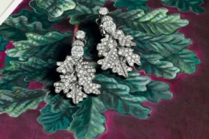 欧洲古董珠宝中常见的植物元素